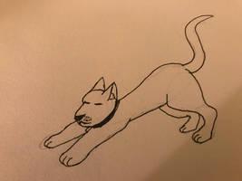Inktober-2018- stretch by wolfyloveanime