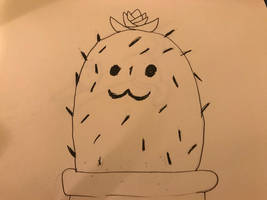Inktober-2018- prickly by wolfyloveanime