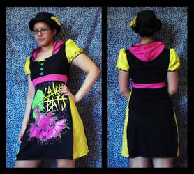 cancer bats dress by Maraleopard