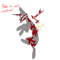 Mlp Gore Base by thunderstorm210