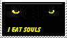EAT Souls Stamp by Taralupe
