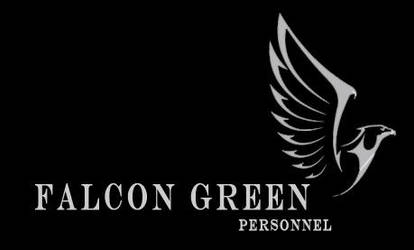 Falcon Green Personnel - Logo Competition by ShatteredAngel08