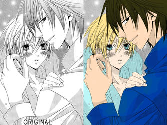 Coloring Manga Boys - 1 by ShatteredAngel08