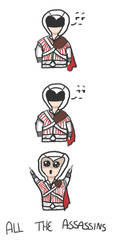 Spazy Ezio by OriensPhoenix