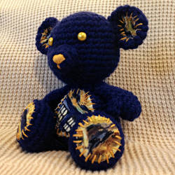 Tardis Teddy Bear - Doctor Who by Dragon620026