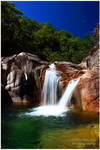 Twin Waterfall by NunoPires