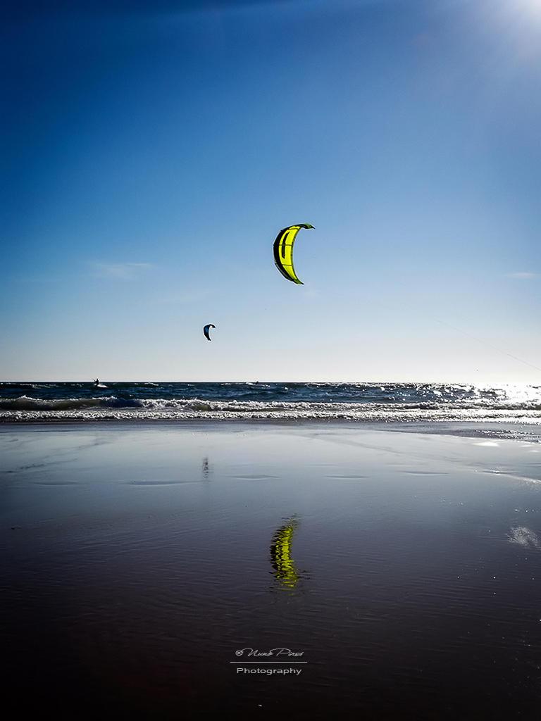 Kite Surfing by NunoPires