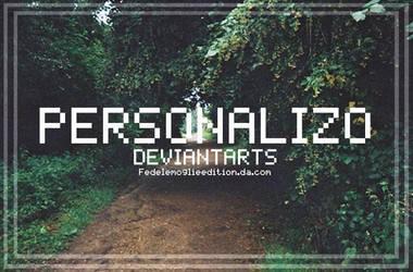 +Personalizacion de Deviantarts by FedeLeMoglieEdition