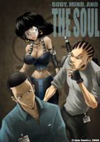 The Soul Issue 1 cover by WinstonWilliams