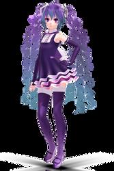 .:Tda Brilliant Butterfly Miku:. by Sushi-Kittie