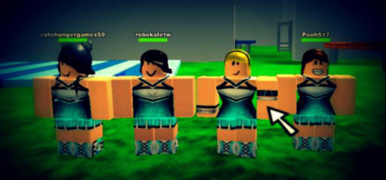 Roblox Cheerleading Group By Eleqtra On Deviantart