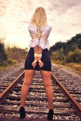 Classic train tracks by atist