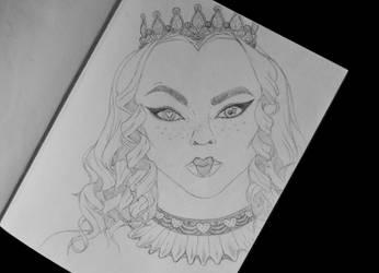 Queen Valentine by aashler