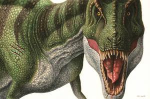 Tyrannosaurus Rex by EsthervanHulsen