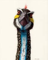 Troodon by EsthervanHulsen