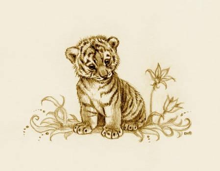 Tiger Cub 2 by EsthervanHulsen