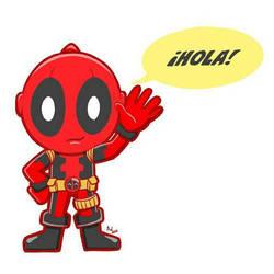 Chibi Deadpool  by AdrianaWentz26
