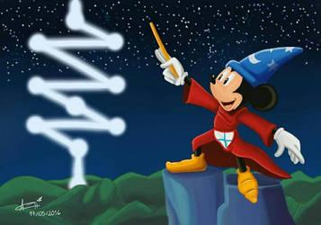 Mickey Mago by AdrianaWentz26
