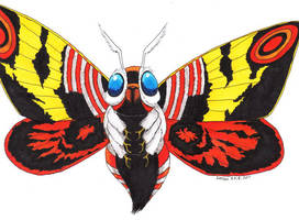 MOTHRA by Lersso