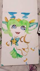 star guardian lulu progress by Katanatix