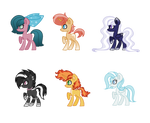 MLP Adoptables 1 [Closed] by SapphireTwinkle