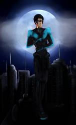 Nightwing by Rinalpha