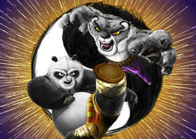 Kung Fu Panda by DLowell