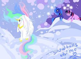 Snowballs time by DonEnaya