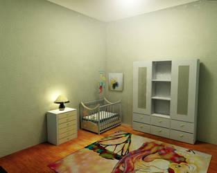 Baby room crib by kernill