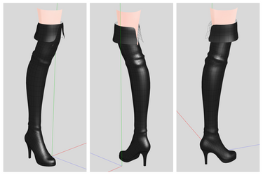 New Boots W.I.P by iRon0129