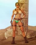 Tomb Raider Nude II by Balakir