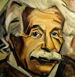 Einstein by rayebones