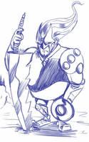 Daily Sketch: Yoshdo by Hunchy