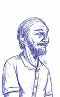 Daily Sketch: Benjamin by Hunchy