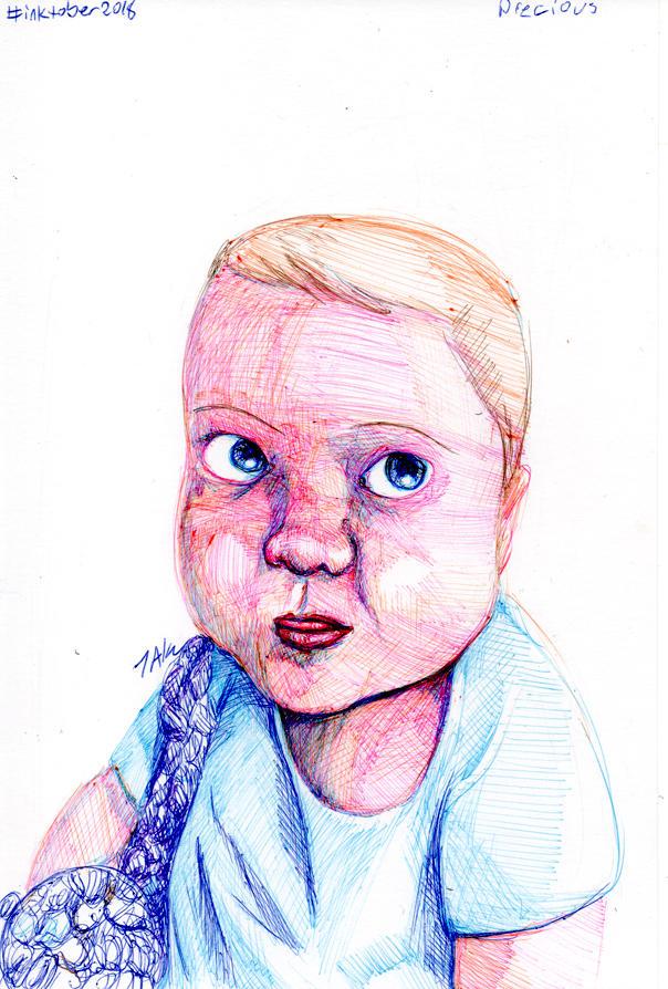 Daily Sketch: Precious by Hunchy