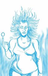 Daily Sketch: Symone by Hunchy