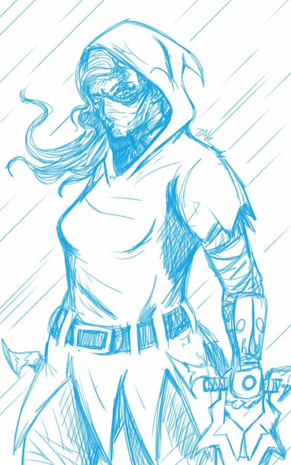 Daily Sketch: Marian by Hunchy
