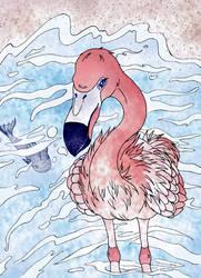 Summer Flamingo Beauty by EMMYtheK