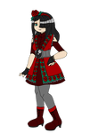 .:Outfit Design CE:. Red As A Rose by EMMYtheK