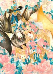 FoxBoy and FoxGirl by laverinne