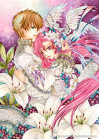 Suzaku and Euphemia by laverinne
