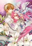 Suzaku and Euphemia by laverinne