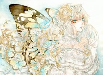 Butterfly Key by laverinne