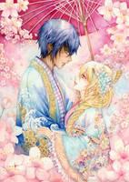 Hikaru and Ashra by laverinne