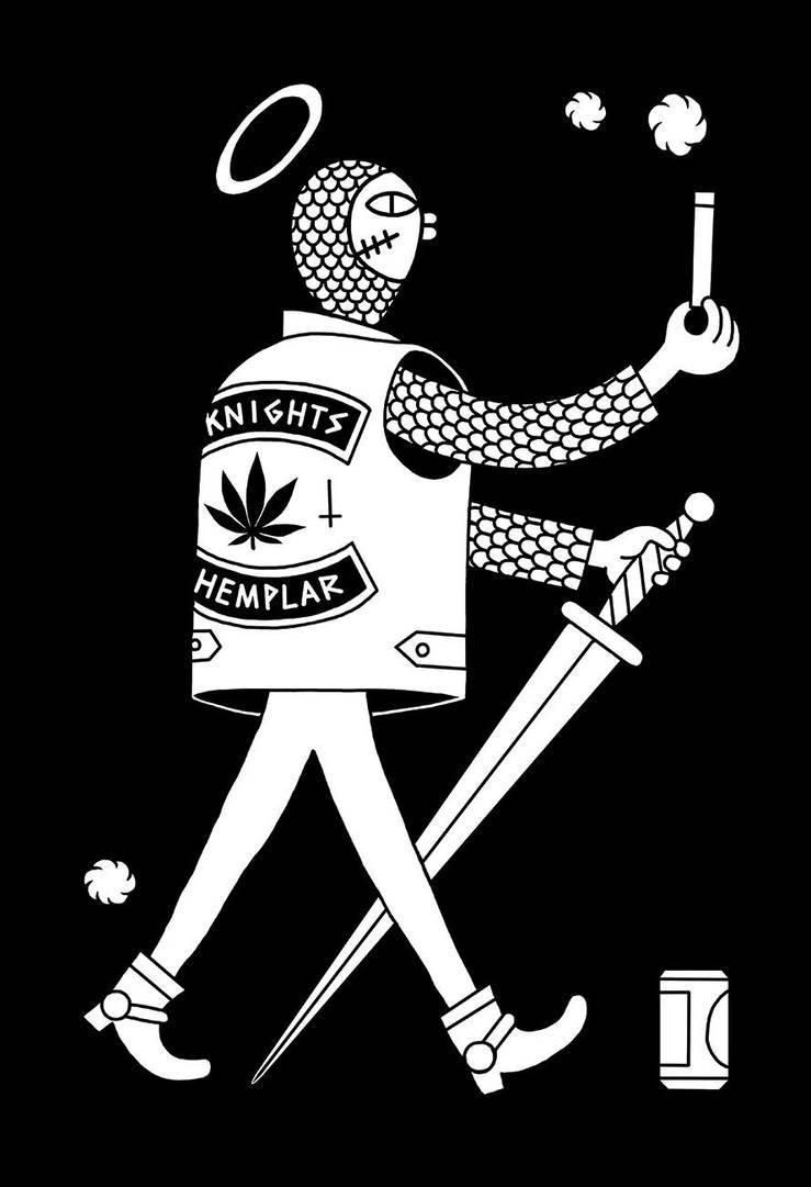 Knights Hemplar Small by NeverRider