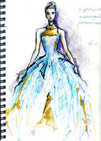 dress by sekune