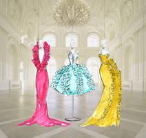 ball gown by sekune