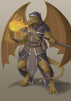 Kobold Magician by Catilus