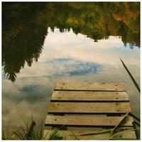 Fall series: by the pond by kozelova