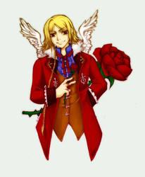 Rose Thief by morana-sama